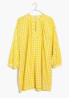 Gingham Tunic Dress