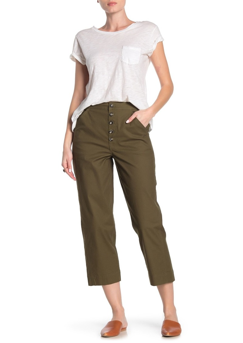 Madewell Greenwich Relaxed Pants: Button-Front Edition