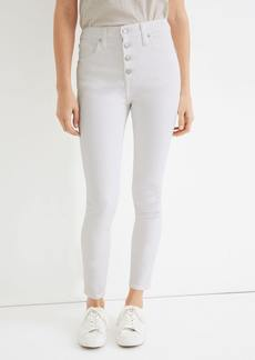 Madewell High Rise Cropped Skinny Jeans - 24