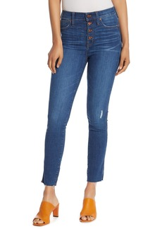 Madewell High Rise Distressed Skinny Jeans