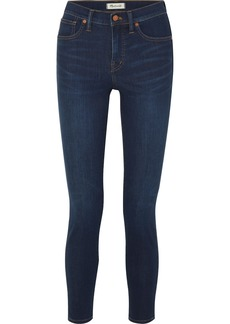 Madewell High-rise stretch-denim skinny jeans