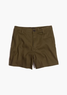 Madewell High-Rise Twill Shorts