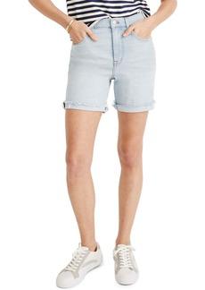 Madewell High Waist Mid Length Denim Shorts (Adeline)