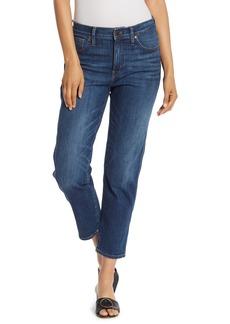 Madewell High Waist Slim Straight Leg Jeans (Hammond) (Regular & Plus)