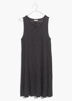 Madewell Highpoint Tank Dress in Chevron Stripe