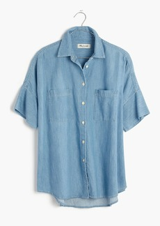 Indigo Courier Shirt in Kieran Wash