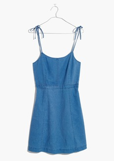 Indigo Tie-Strap Dress