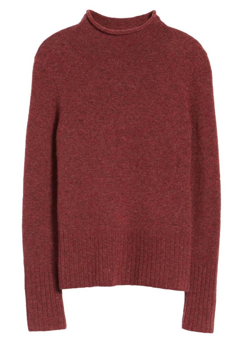 Madewell Mock Neck Long Sleeve Sweater (Regular & Plus Size)
