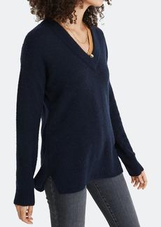 Madewell Jason V Neck Boyfriend Sweater - L - Also in: M