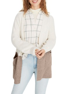 Madewell Kent Colorblock Cardigan Sweater (Regular & Plus Size)