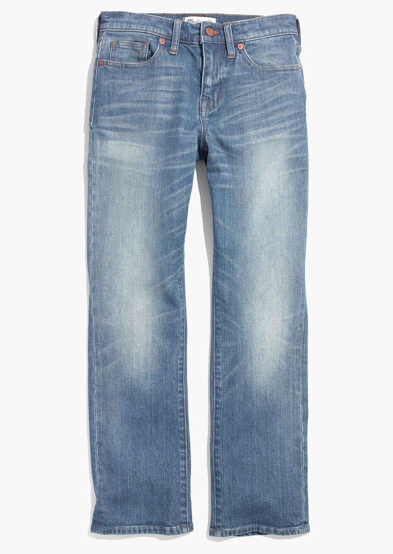 Madewell Kick Out Crop Jeans in Thom Wash