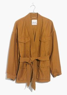 Kimono Military Jacket