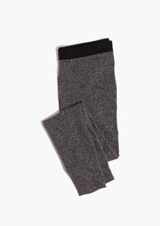 Knit Leggings in Colorblock