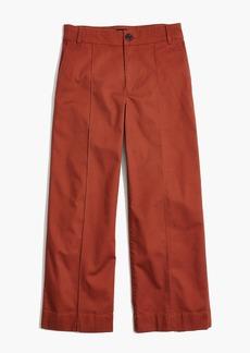 Langford Wide-Leg Crop Pants: Pintuck Edition