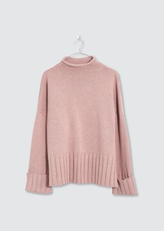 Madewell Lauren Mockneck Sweater - L - Also in: XL, M
