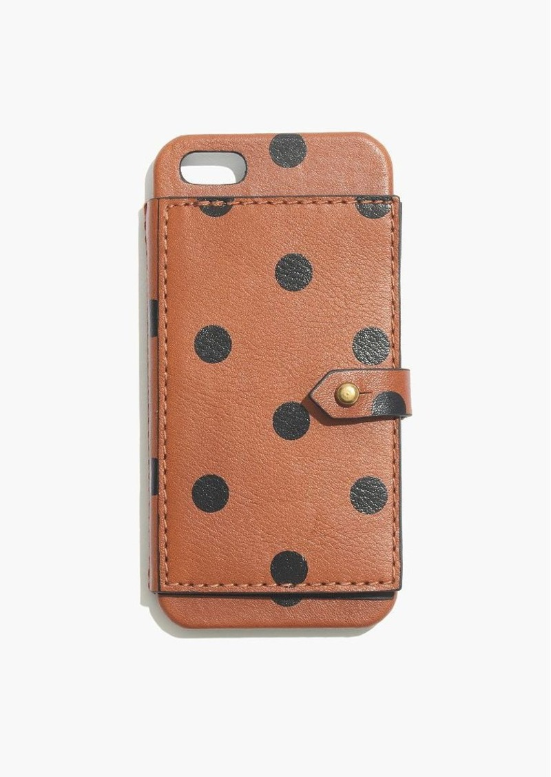 madewell iphone case madewell leather wallet for iphone 174 5 5s in dot 8775