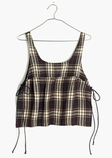 Madewell Loup Charmant™ Como Cropped Shirt