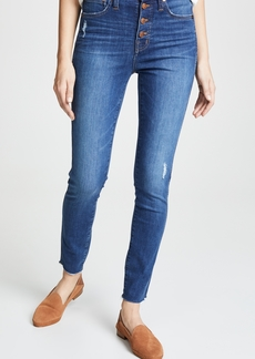 """Madewell 10 High Rise Button Front Jeans"""""""