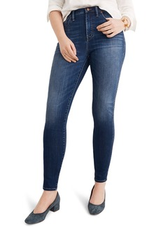 Madewell 10-Inch High Rise Skinny Jeans (Danny)