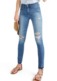 Madewell 10-Inch High-Rise Skinny Jeans: Drop-Hem Edition (Winifred)