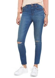Madewell 10-Inch High Rise Skinny Jeans (Sunnyside Wash)