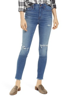 Madewell 10-Inch High Rise Skinny Jeans (Wilshire)