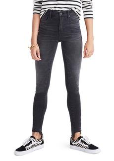 Madewell 10-Inch High Rise Step Hem Skinny Jeans (Slater Wash)