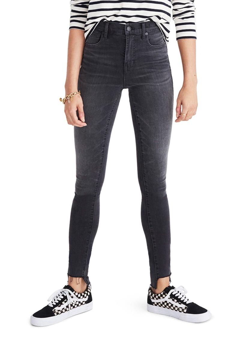 16bfb6ca93 Madewell Madewell 10-Inch High Rise Step Hem Skinny Jeans (Slater ...