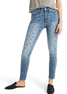Madewell 10-Inch High Waist Crop Skinny Jeans (Harwell)
