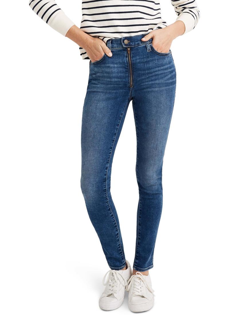 Madewell 10-Inch High Waist Roadtripper Skinny Jeans (Ridgefield)