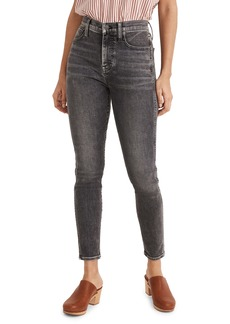 Madewell 10-Inch High Waist Skinny Crop Jeans (Oakwood)