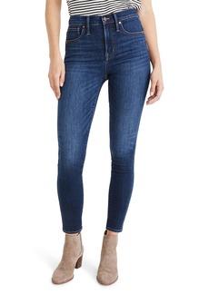 Madewell 10-Inch High Waist Skinny Jeans: Cashmere Denim Edition (Vienna)