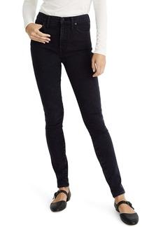 Madewell 10-Inch High Waist Skinny Jeans (Eclipse Wash)