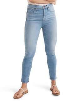 Madewell 10-Inch High Waist Skinny Jeans (Light Annapolis)