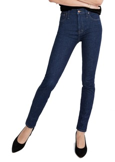 Madewell 10-Inch High Waist Skinny Jeans (Lucille) (Short)