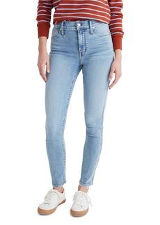 Madewell 10-Inch High Waist Skinny Jeans (Wheeler)