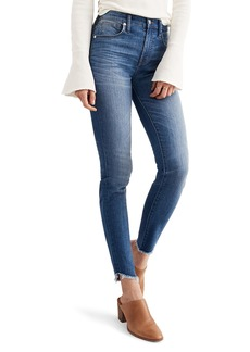 Madewell 10-Inch High-Rise Tulip-Hem Skinny Jeans (Somerset)