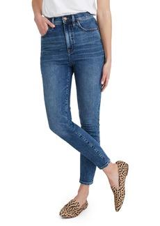 Madewell 11-Inch High Waist Skinny Jeans (Longridge)