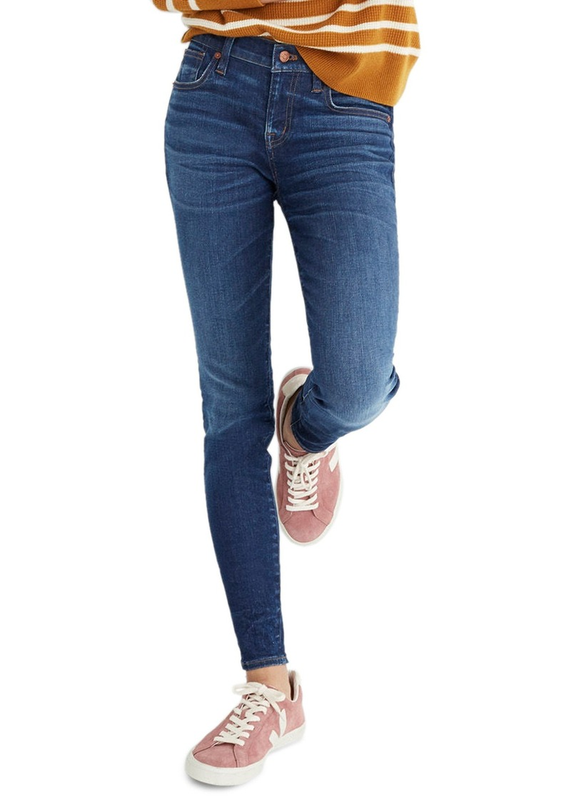Madewell 8-Inch Skinny Jeans (Ames)