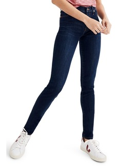 Madewell 9-Inch High Rise Skinny Jeans (Larkspur Wash)