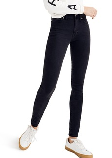Madewell 9-Inch High-Rise Skinny Jeans (Lunar)