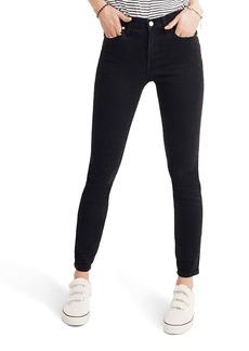 Madewell 9-Inch High Rise Skinny Jeans (Lunar)