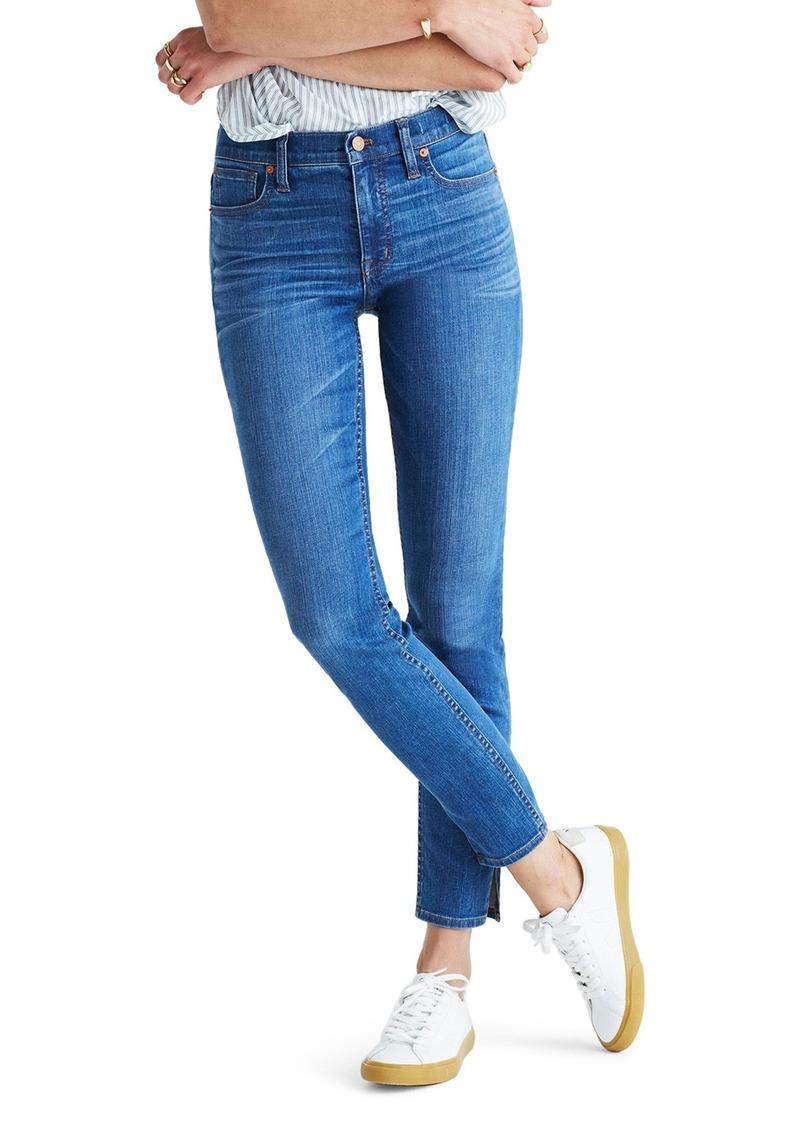 dependable performance good selling special promotion Madewell Madewell 9-Inch High-Rise Skinny Jeans: Side-Slit Edition (Bonita  Wash)