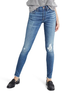 Madewell 9-Inch High Waist Ankle Skinny Jeans (Allegra)
