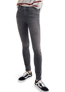 Madewell 9-Inch High Waist Skinny Jeans (Coltrane)