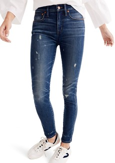 Madewell 9-Inch High Waist Skinny Jeans (Griffith)