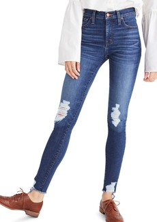 Madewell 9-Inch High Waist Skinny Jeans (Kurt Wash)