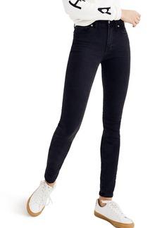 Madewell 9-Inch High Waist Skinny Jeans (Lunar) (Short)