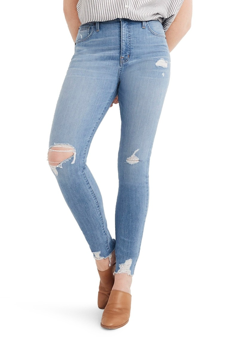 f75eaf154c74d8 Madewell Madewell 9-Inch High Waist Skinny Jeans (Ontario Wash ...