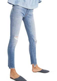 Madewell 9-Inch Torn Knee Skinny Jeans (Frankie)